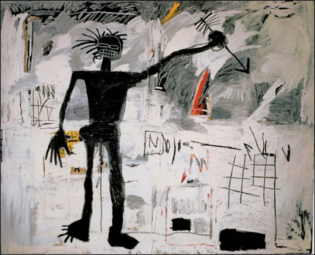 Jean-Michel Basquiat, Self-Portrait (1982) painting.