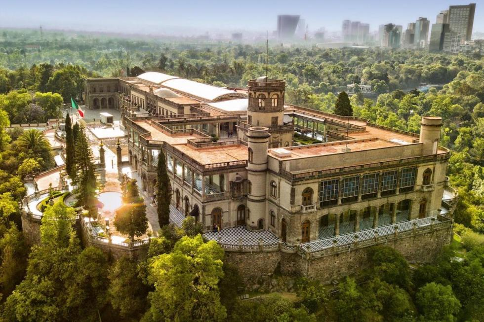 Chapultepec Castle Mexico City, Mexico