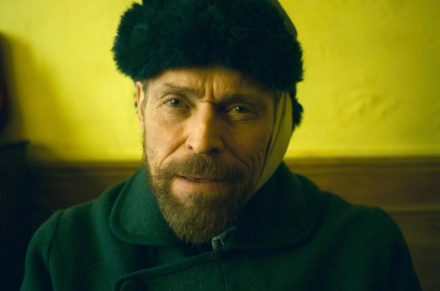 "American actor Willem Dafoe as Vincent Van Gogh in Julian Schnabel's film ""At Eternity's Gate."""