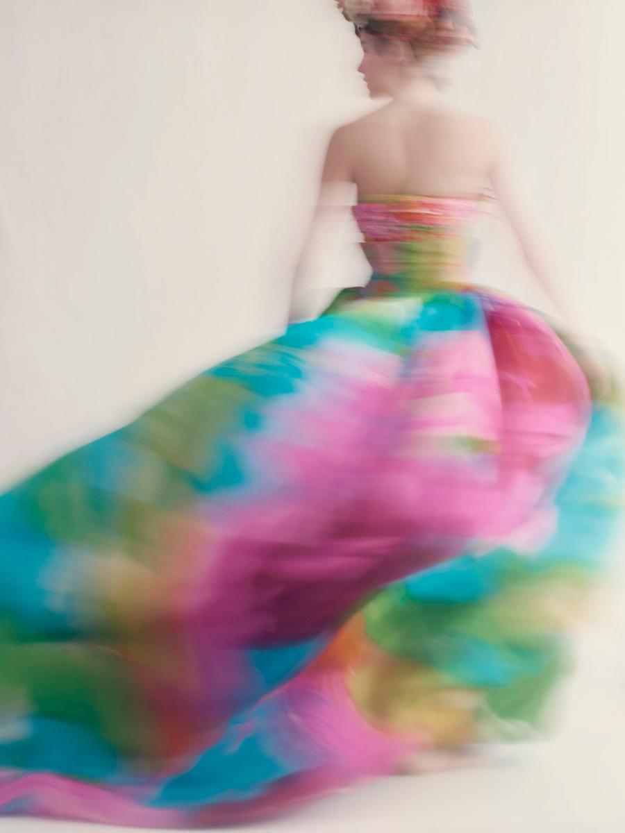 Gianfranco Ferré, Robe Hellébore, Dior Collection Haute Couture.