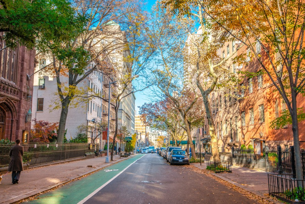 Brooklyn Heights neighborhood in New York City, USA.