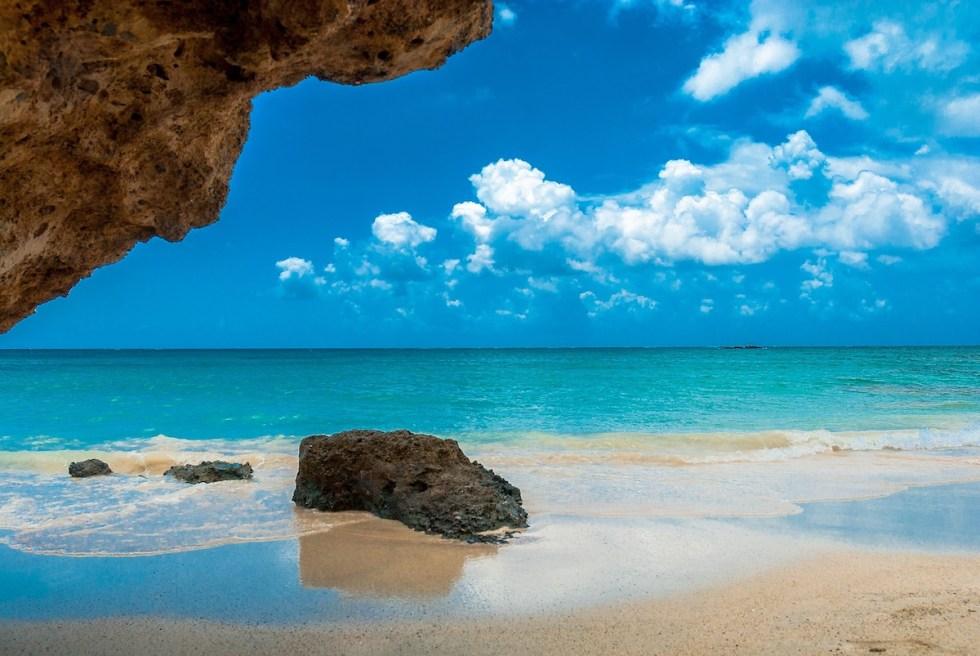 A fabulous beach on a Greek island.