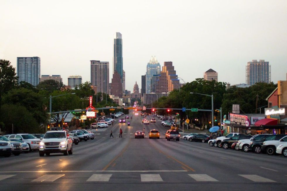 South Congress Avenue in Austin, Texas.