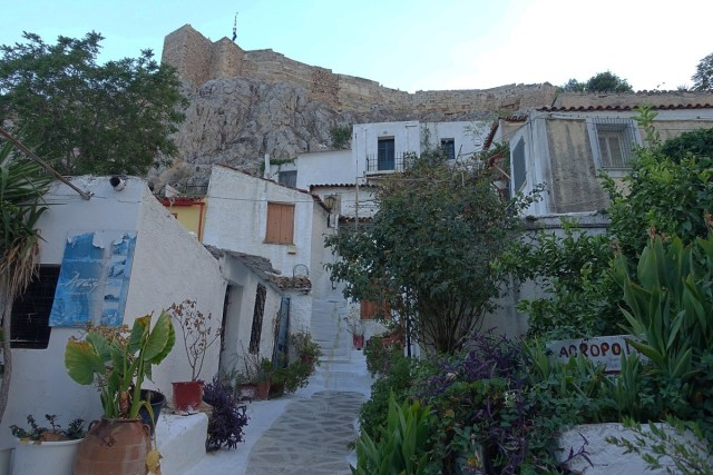 Anafiotika in Athens, Greece.