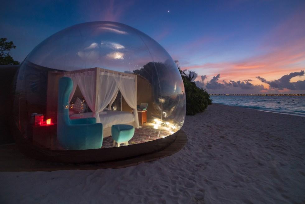 "Finolhu ""Beach Bubble"" Tent"