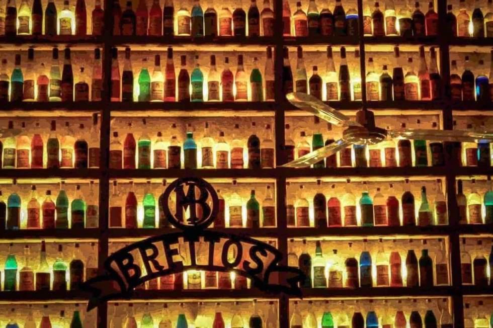 Brettos bar in Athens, Greece.