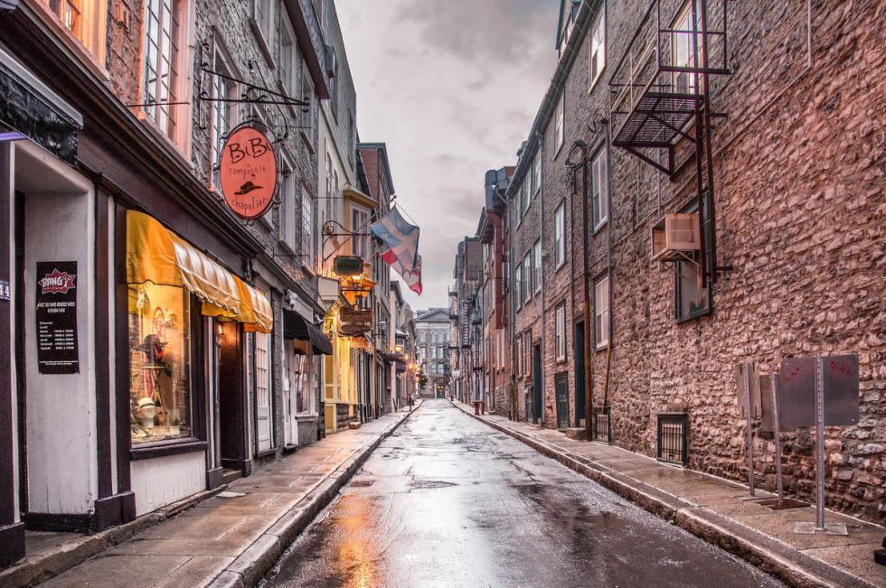 Old Québec in Québec City, Canada.
