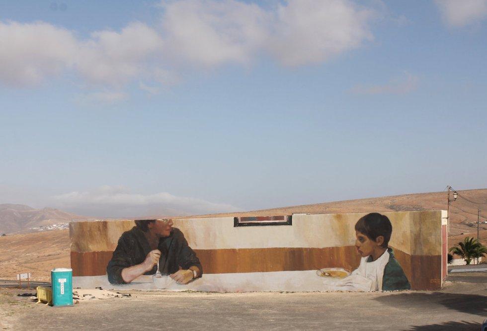 Cena para dos II with Alba Trench, Fuerteventura, Canary Islands (Spain), 2019