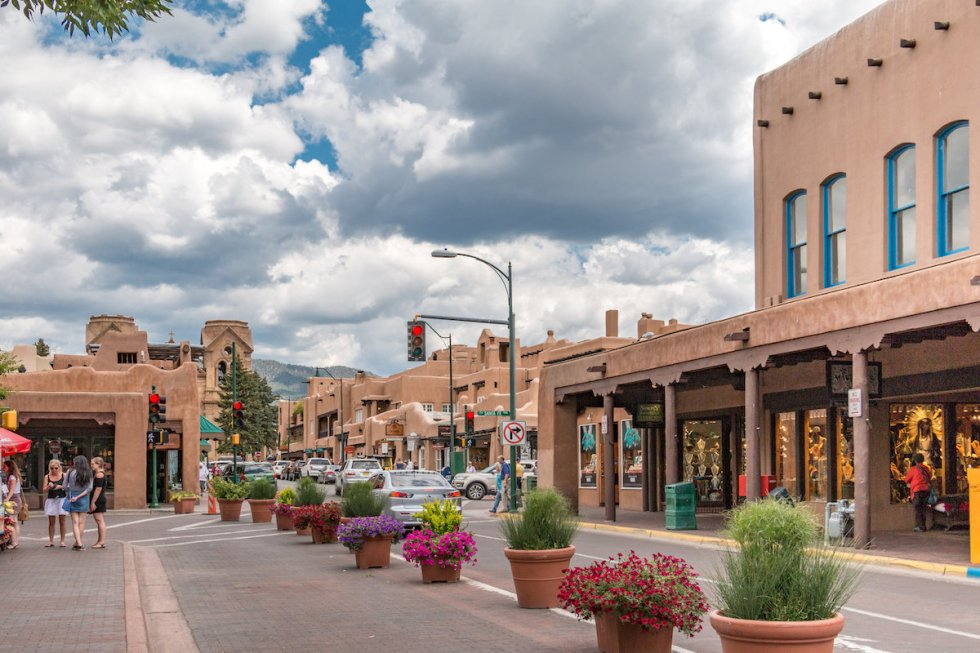 Downtown Santa Fe, New Mexico
