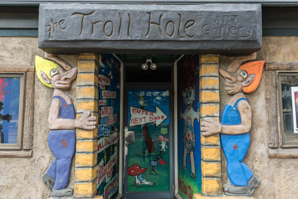 The Troll Hole Museum in Alliance, Ohio.
