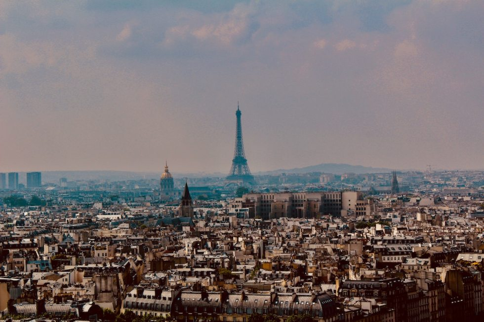 Paris, France's capital.