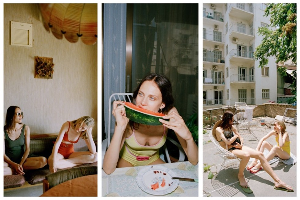 "Three photos shot by Yorgos Lanthimos and published in Vogue Greece for the ""SEA"" project."