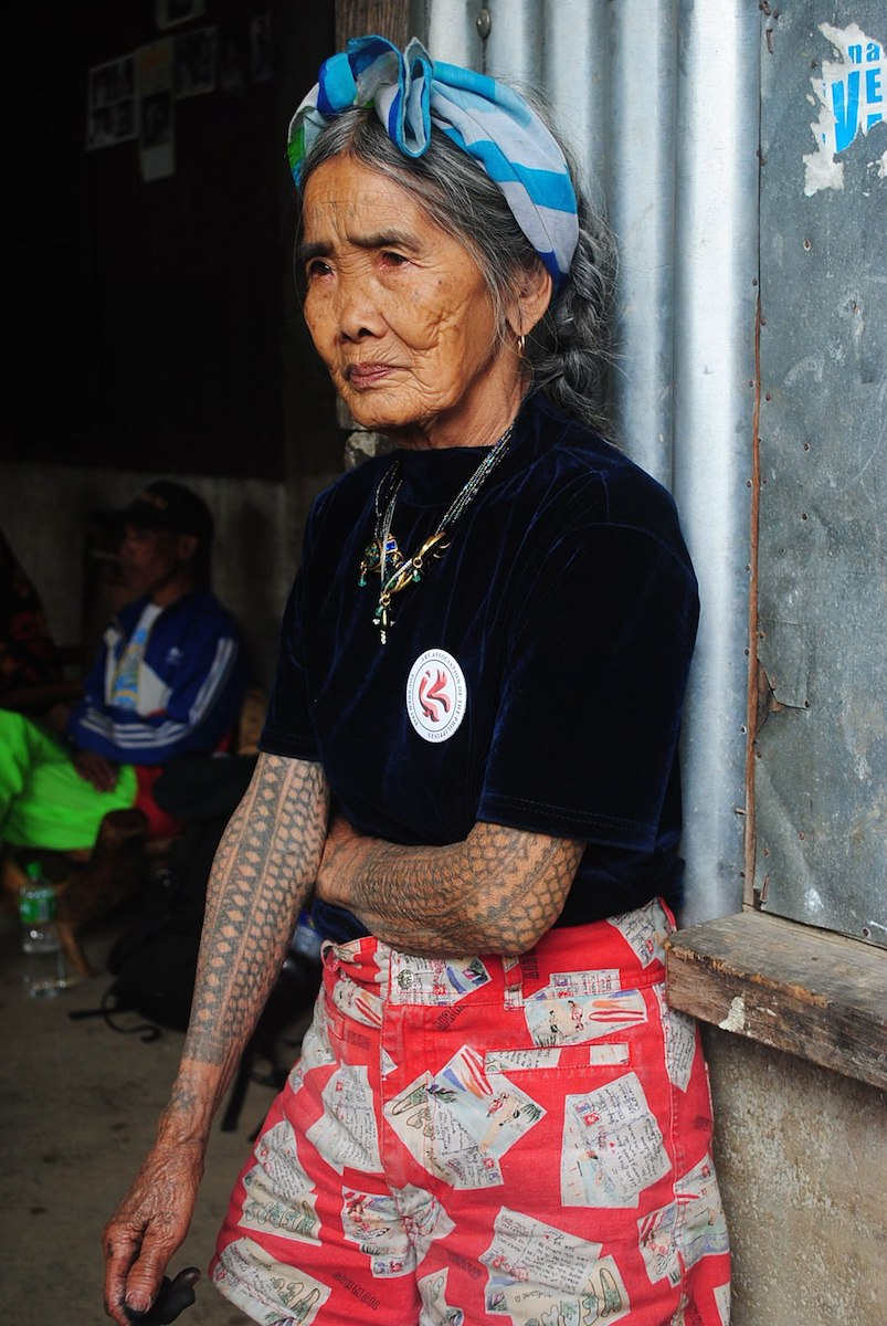 tattoo artist Whang-od Oggay