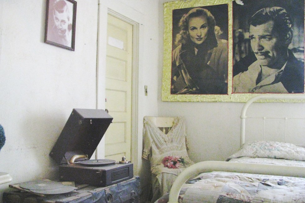 Clark Gable and Carole Lombard's honeymoon suite at Oatman (Durlin) Hotel, Arizona