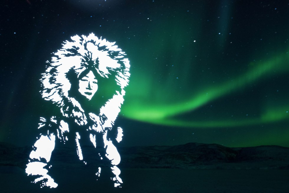 """Spirit of the Northern Sky,"" part of Fabrice Wittner's ecologically conscious project ""The Northern Lights"""