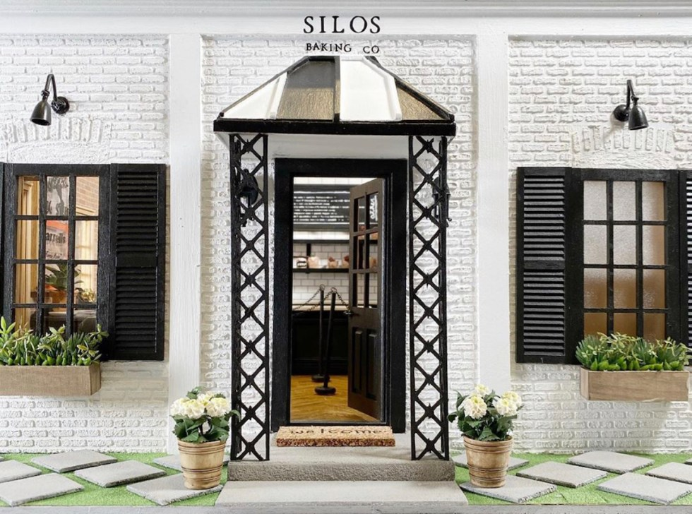 A miniature of Silos Baking Co, a quaint bakery owned by Chip & Joanna Gaines, Ella made