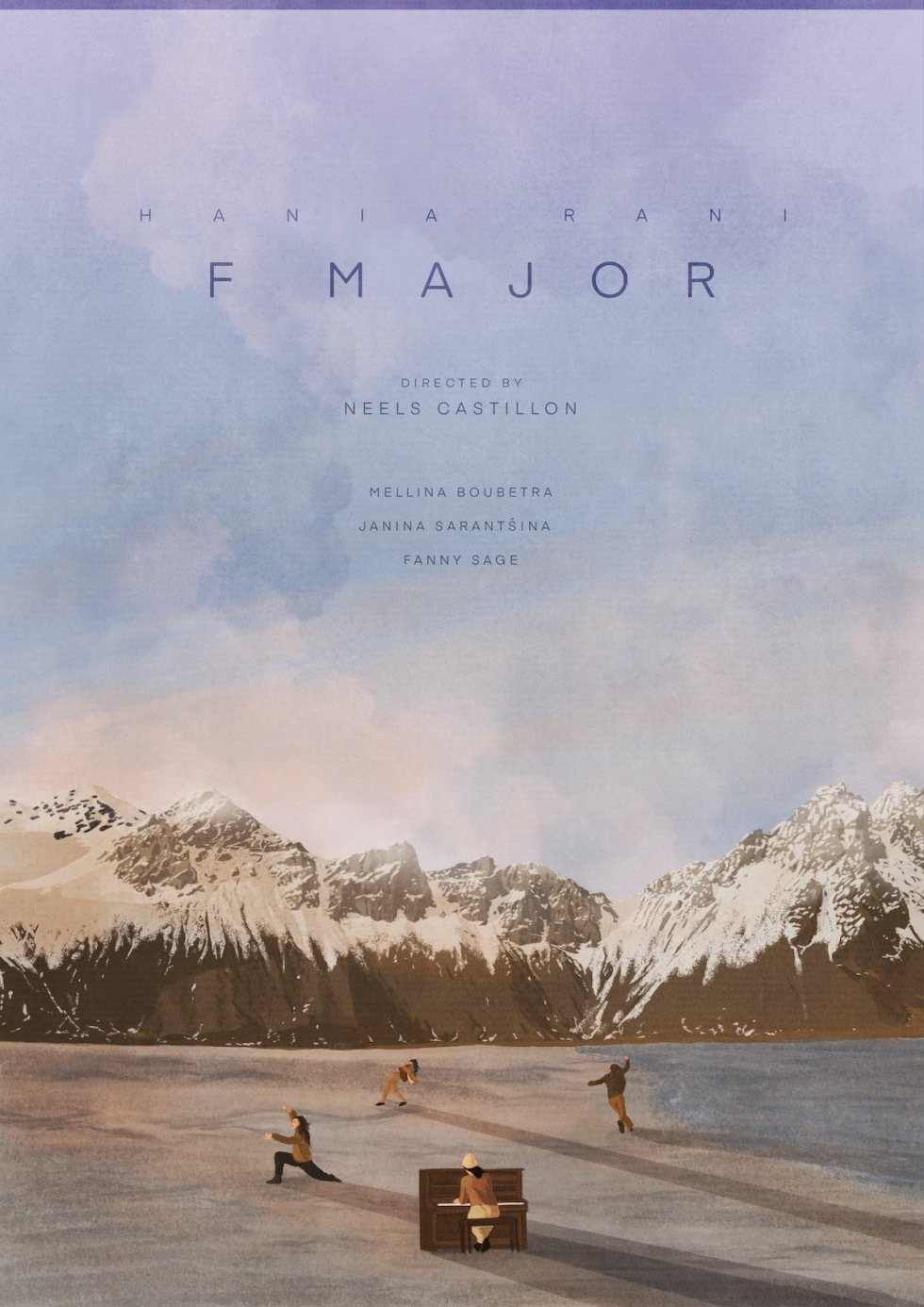 F Major music video poster by Jamie Edler