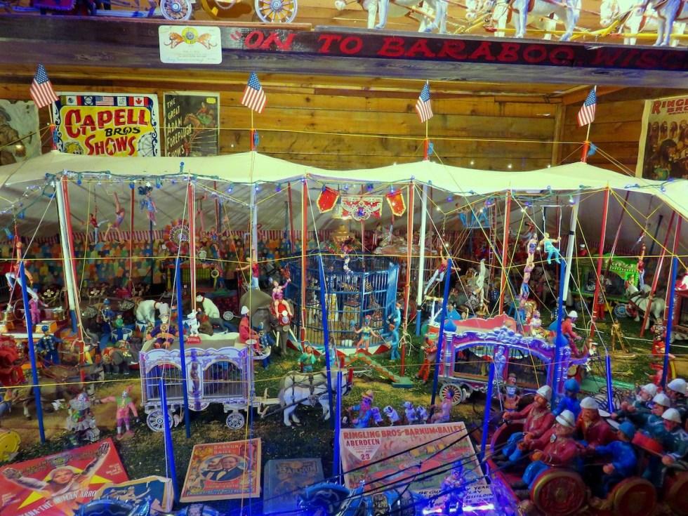 Tinkertown Circus Diorama