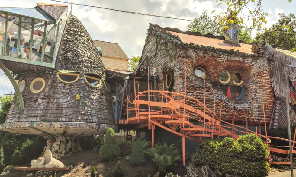 Terry Brown's Mushroom House in Cincinnati, Ohio