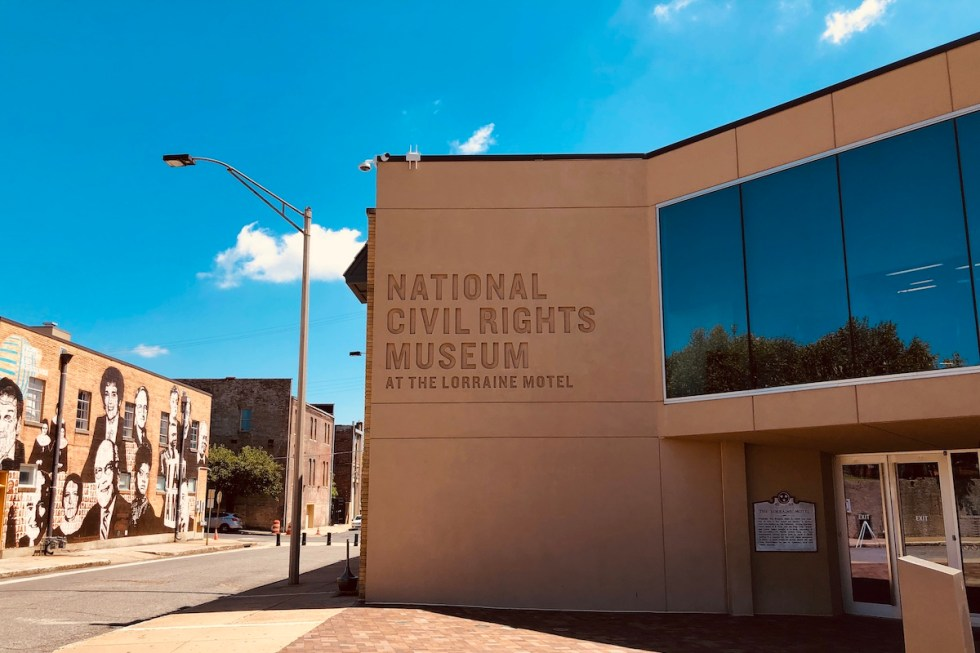 The National Civil Rights Museum at the Lorraine Motel in Memphis, Tennessee