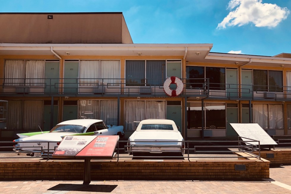 the Lorraine Motel in Memphis, Tennessee