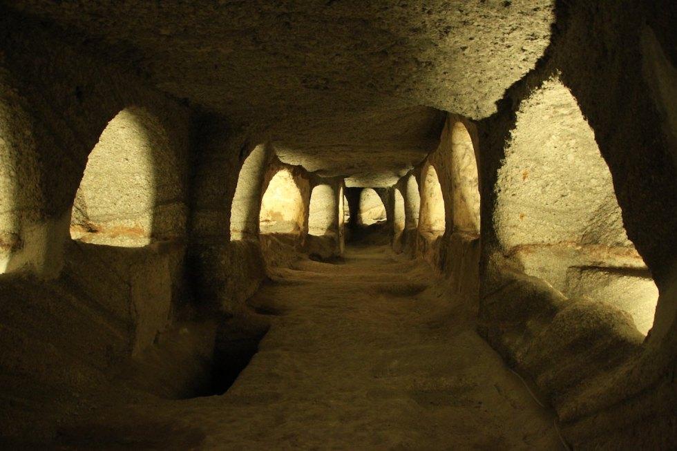 Tripiti Village Catacombs Milos Greece