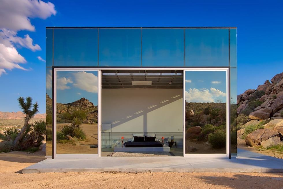 Invisible House Airbnb