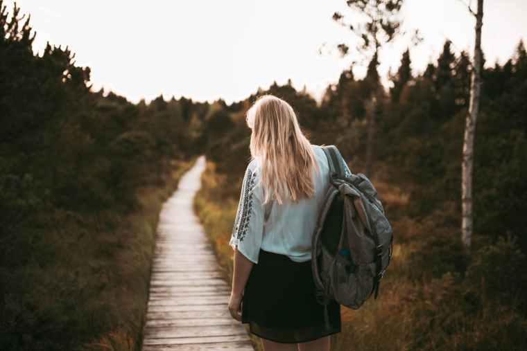 Christianity, backpack, poetry, burdens, prayers