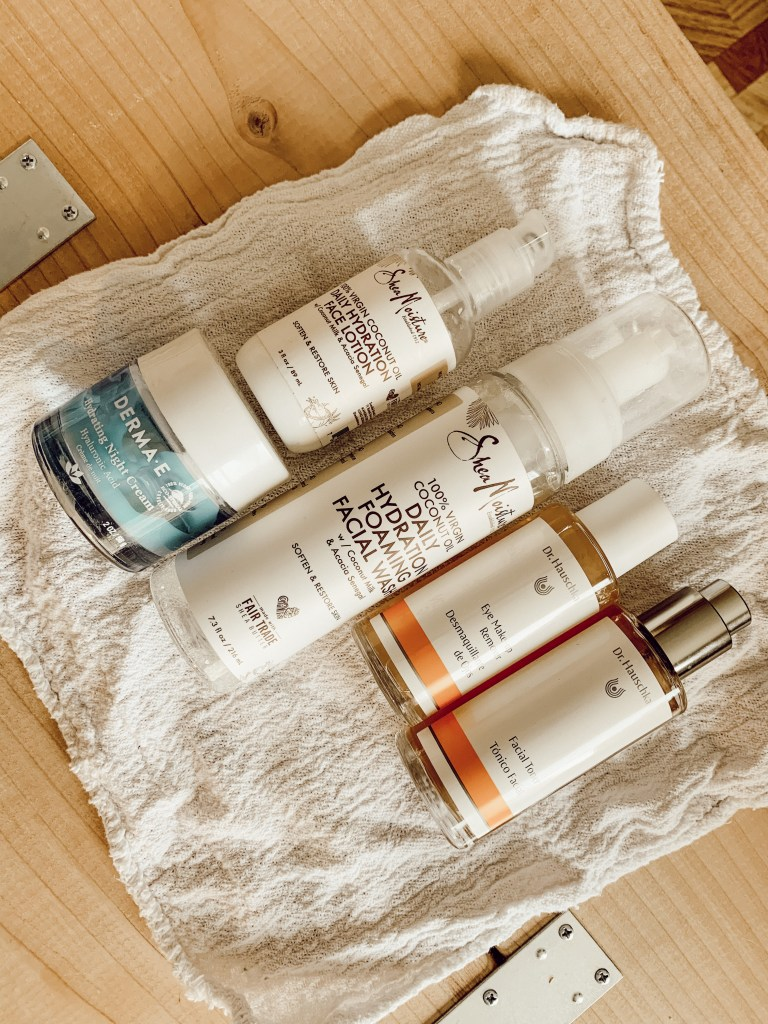 5 facial products, self-care, wellness, katina horton, lifestyle blogger, lifestyle, health, tips, self-care, simple functional grace filled living, Dr. Hauschka