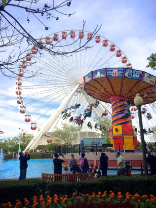 Divergent Ferris Wheel