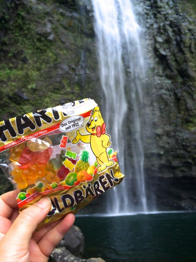 Epic hikes can only be celebrated with Haribo, the original gummibear.
