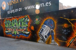 Street Art Star Wars