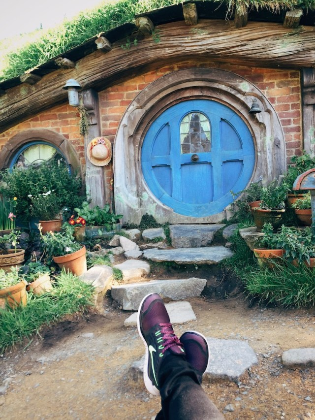 Just chillin' in The Shire. NBD.