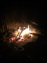 Music and Warmth by the fire