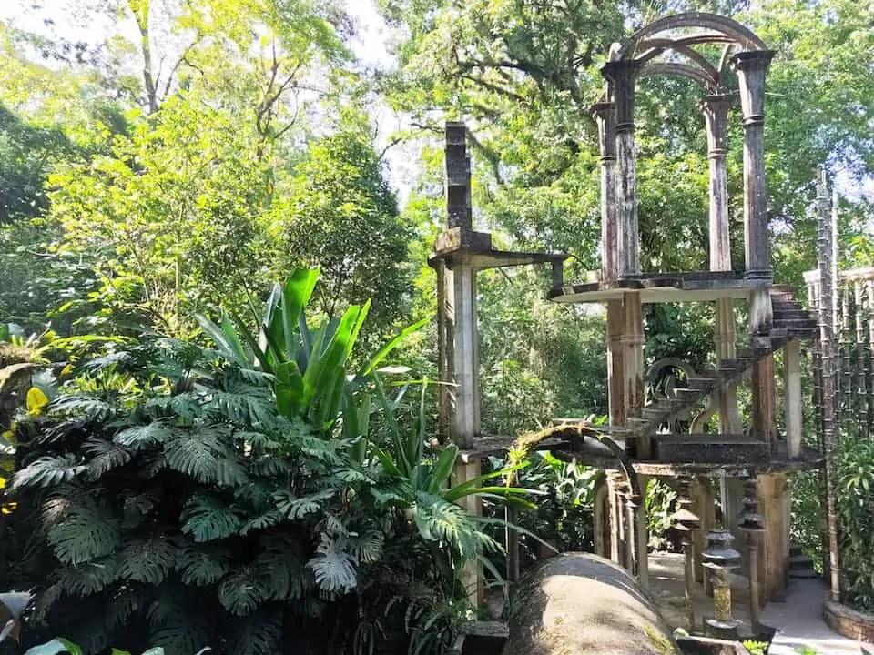Las Pozas, the surrealist garden of Sir Edward James