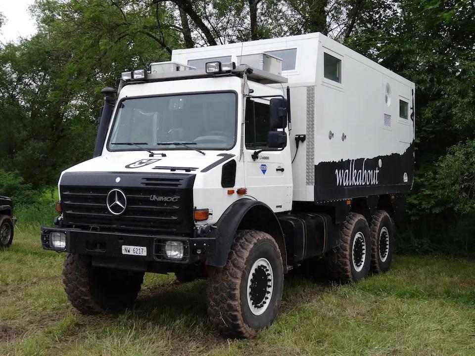 A serious overlanding truck