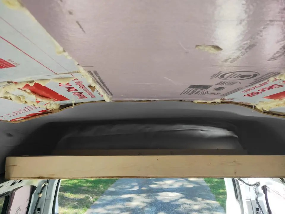 Shelving for our DIY van conversion