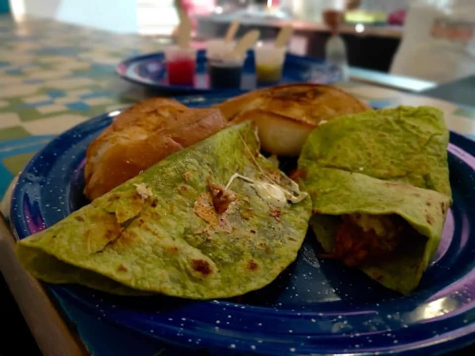 The best tacos from Achiote Cochinita Pibil at the best restaurant in San Cristobal de las Casas