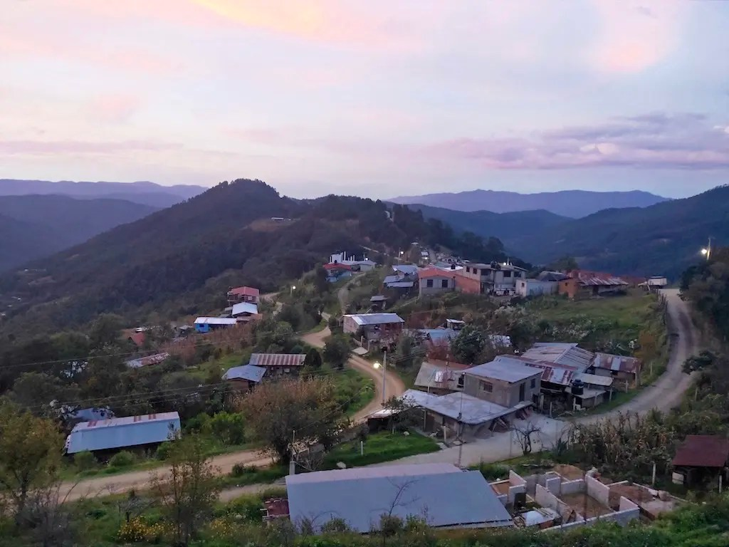 The mountains of Oaxaca's Pueblos Mancomunados