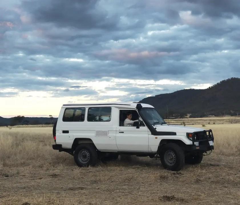 Land Cruiser Troopy Camper
