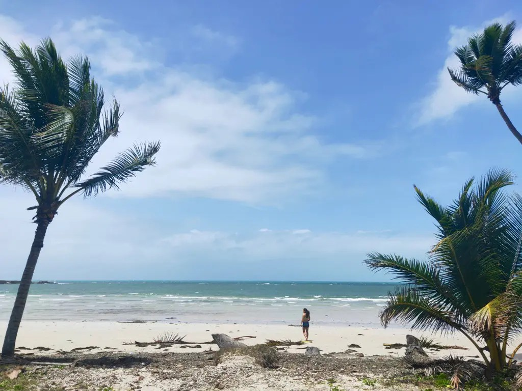 The wind swept Chili Beach is one of the best things to do in Cape York and should be a part of everyone's Cape York trip planning.