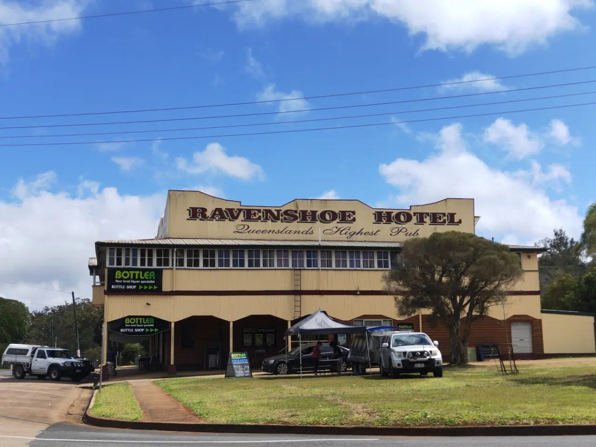 The Ravenshoe Hotel is Queensland's highest pub and a must for any Atherton Tableland itinerary.