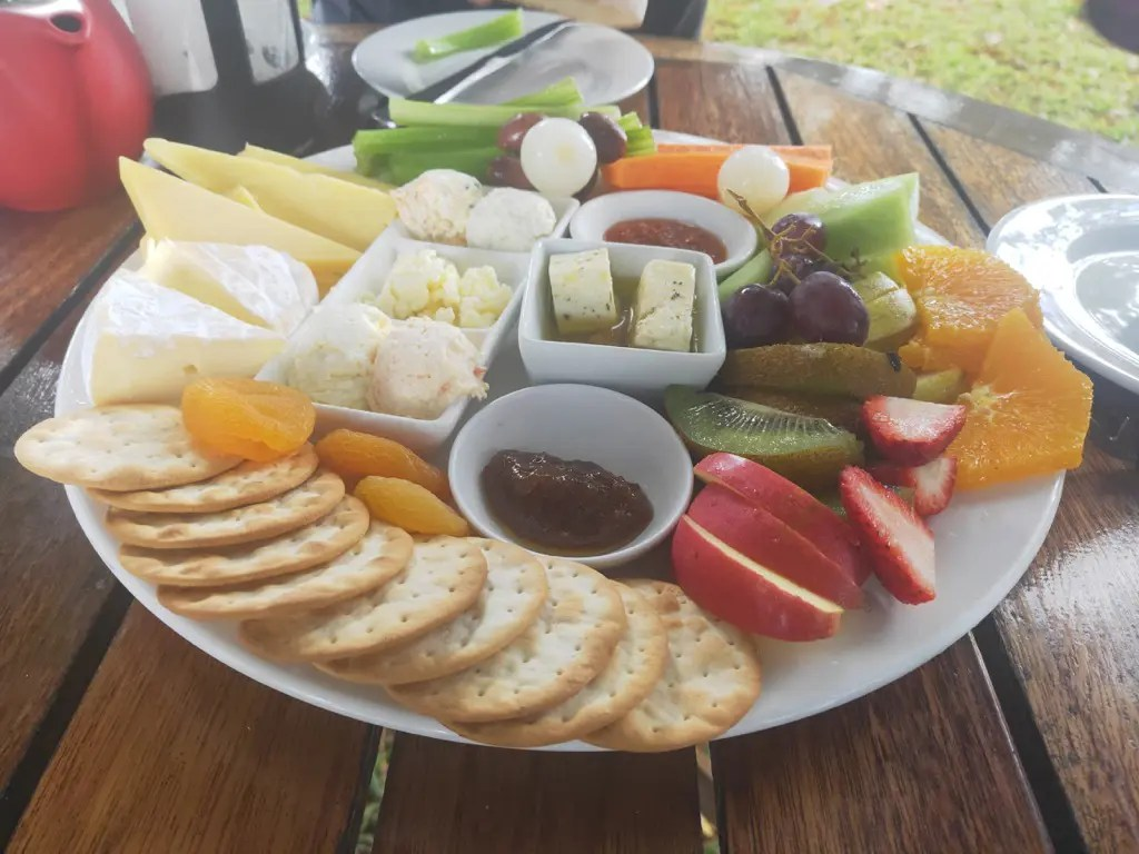 A cheese platter from Mungalli Creek Dairy and Cafe is one of the best things to do in Atherton Tablelands