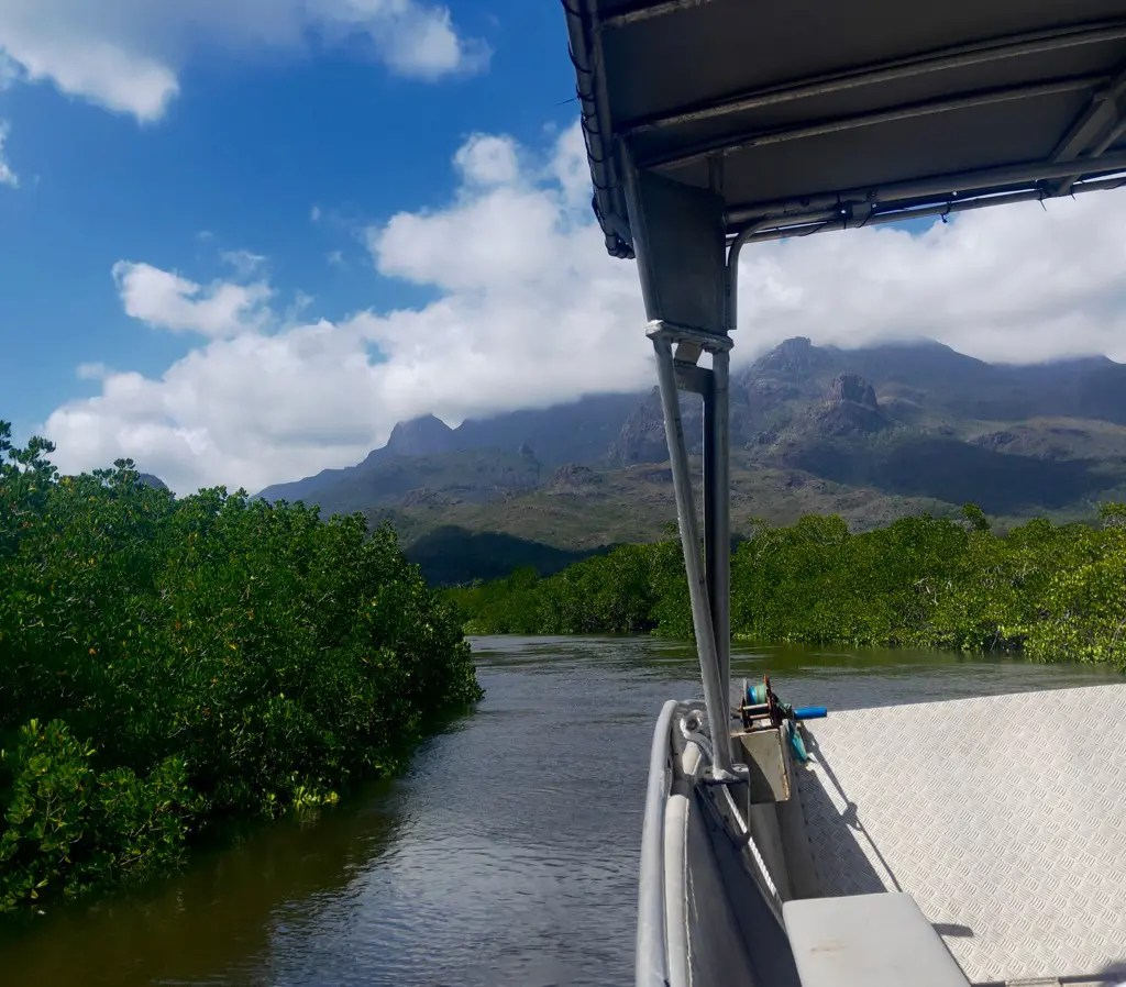 Accessing the island is an adventure in itself when Hiking Thorsborne Trail Hinchinbrook Island