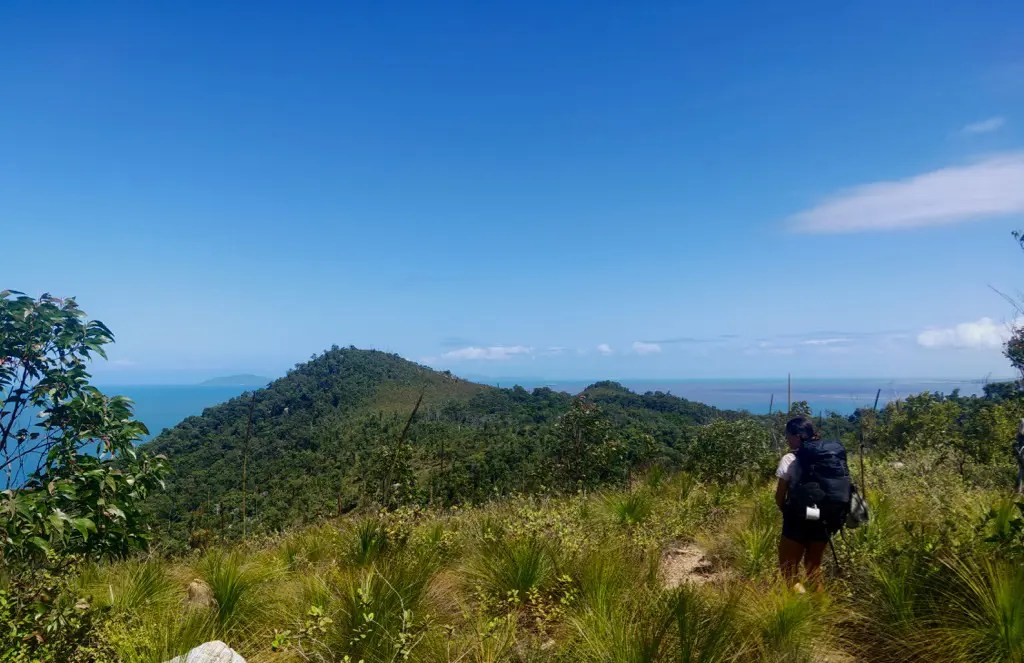 There are a number of side trails and off trail adventures available when hiking Thorsborne Trail Hinchinbrook Island