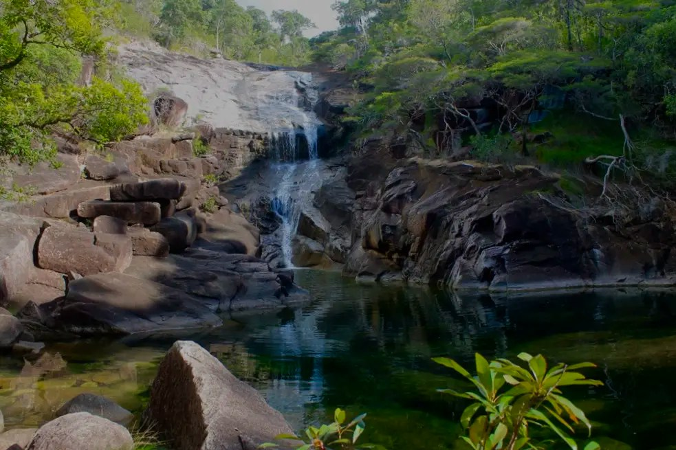 Definitely plan to stay a night at Mulligan Falls when hiking Thorsborne Trail Hinchinbrook Island