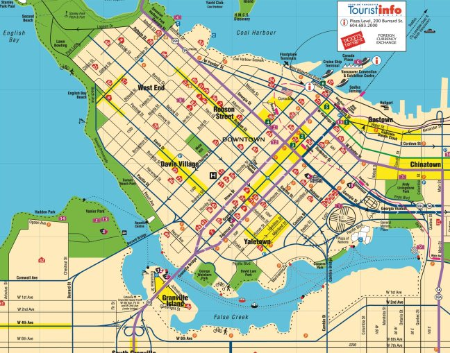 Vancouver-Downtown-Map