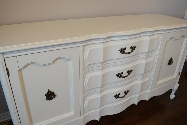 French provincial buffet makeover