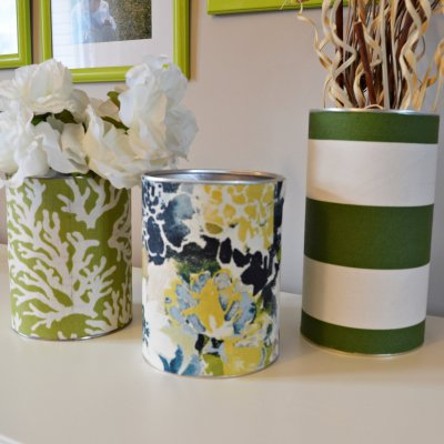 Cheap and Easy Tin Can Vase