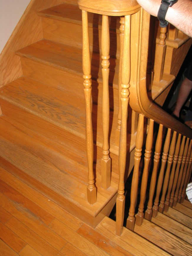 oak staircase makeover